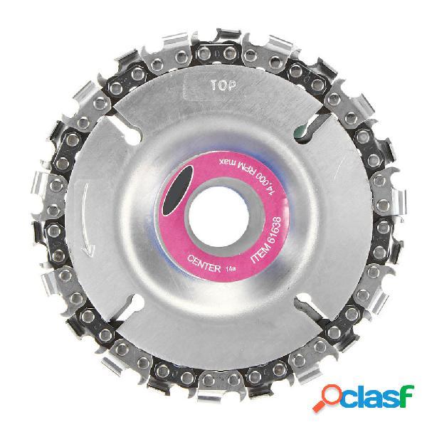 Drillpro 4 Inch Disco de cadena de la amoladora Disco de