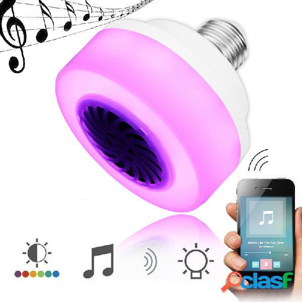 E27 5W LED inalámbrico Bluetooth RGB Bombilla de Luz de