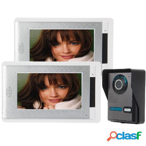 Ennio sy814fa12 el teléfono video de 7 pulgadas timbre kit