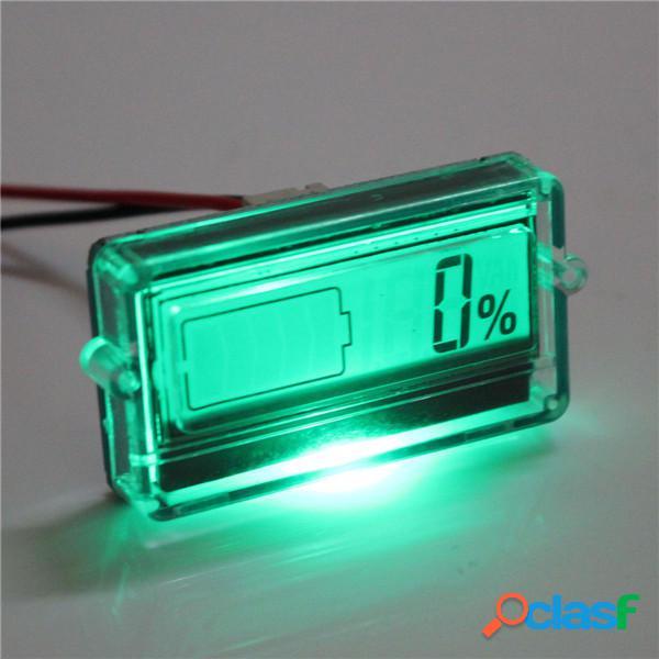 Excellway® Batería Probador de capacidad con indicador LCD
