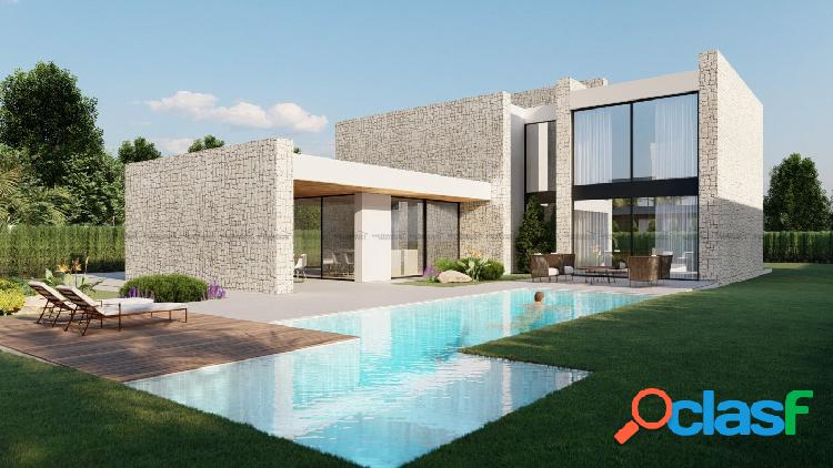Exclusivas villas con proyecto personalizable en la Playa de