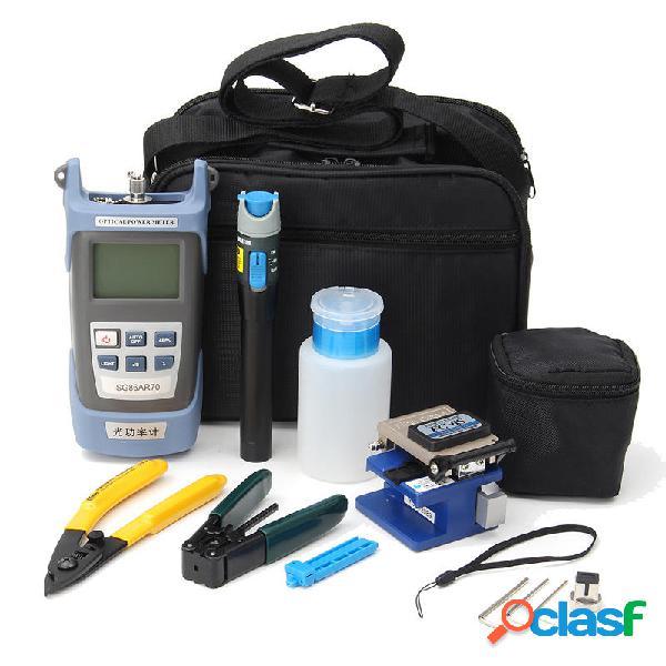 FC-6S Kit de fibra óptica FTTH herramientas y cortador de
