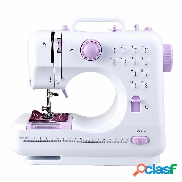 Fanghua 12 puntadas Mini máquina de coser doméstica 505A