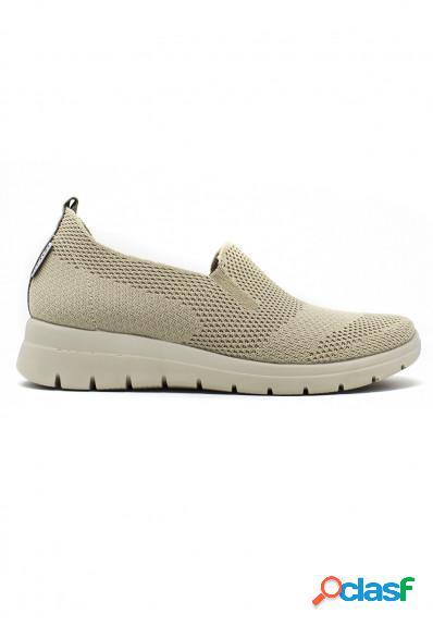 Fly Flot - Sneaker confort en beige