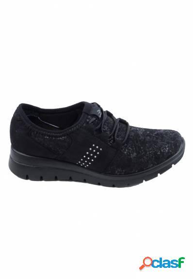 Fly Flot - Zapato casual para mujer cordones elásticos