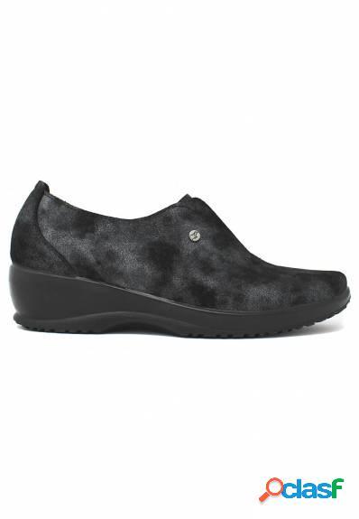 Fly Flot - Zapato de mujer con cuña elástico