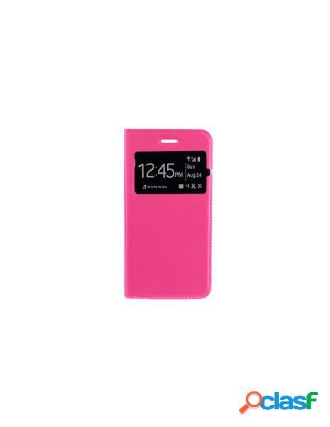 Funda libro rosa Huawei Mate 20
