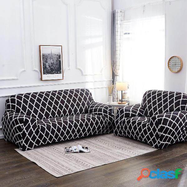 Fundas de silla de sofá elástico de 1/2/3/4 asiento funda