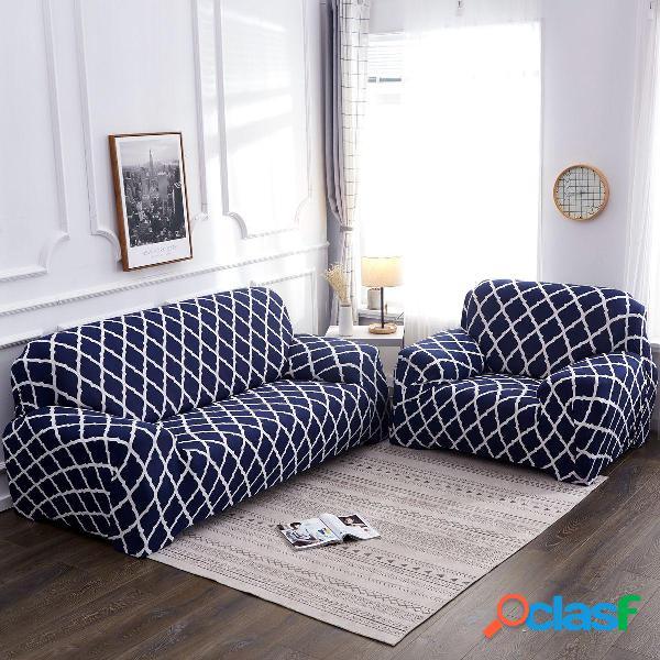 Fundas de sofá elásticas de 1/2/3/4 plazas Funda de sofá