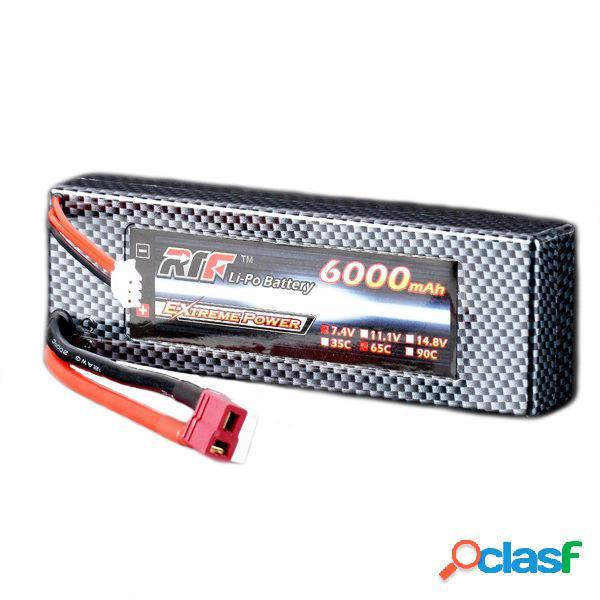 Giant Power la batería lipo 65c 2S paquete de HARDCASE T
