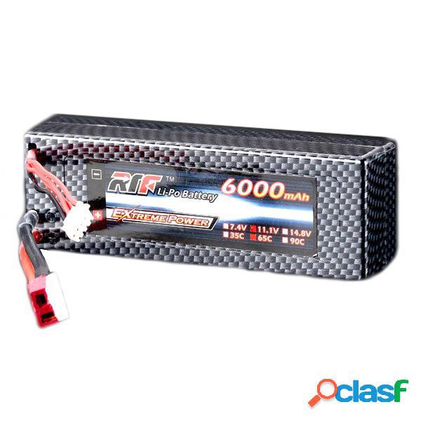 Giant Power la batería lipo 65c 3S 11.6000mah 1v T Plug
