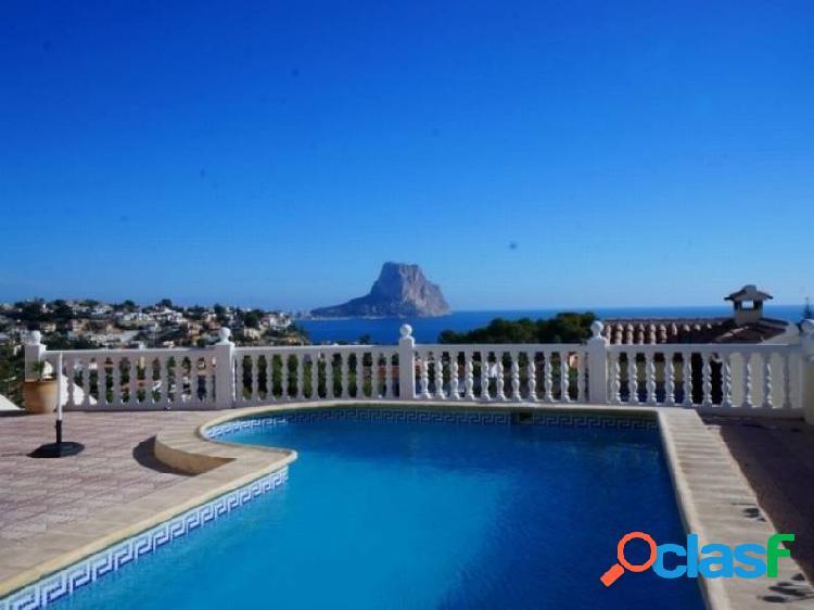 Gran villa con vistas al mar en Calpe