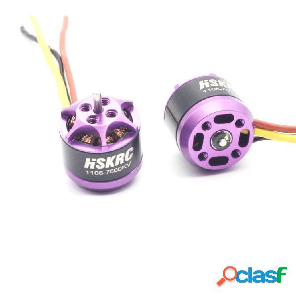 HSKRC 1106 7500KV Micro Motor Sin escobillas 2-3S para RC