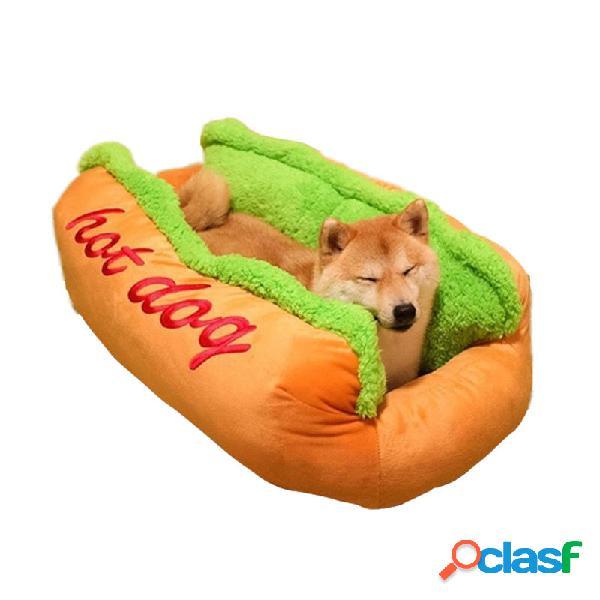 Hot Perro Shape Pet Mattress Puppy Gato Soft y Dirty Cama