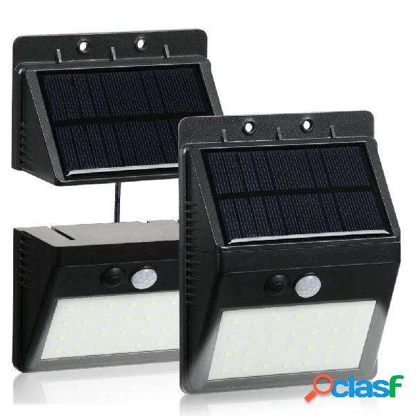 Impermeable 28 LED Solar PIR Motion Sensor Security Lámpara