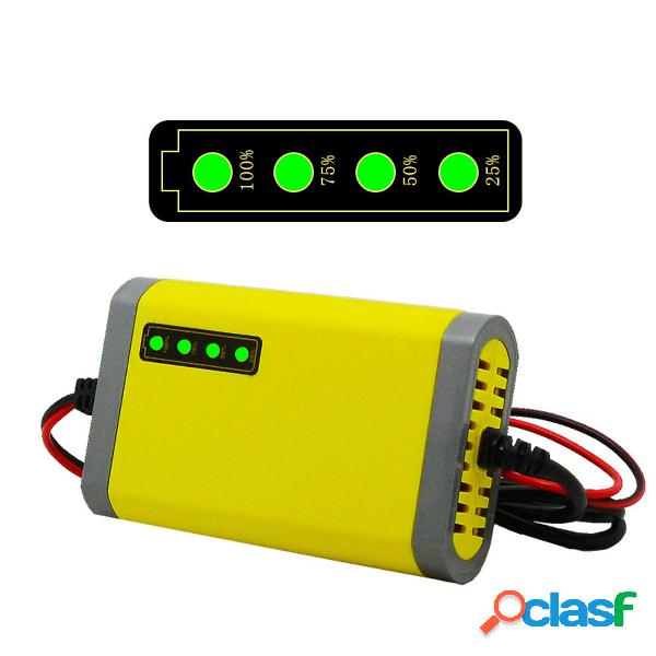 Inteligente automático 12 V 2A Batería cargador cargador