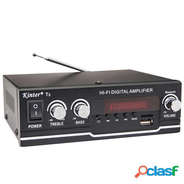 Kinter T2 40W Power Amplificador HIFI bluetooth Audio AMP