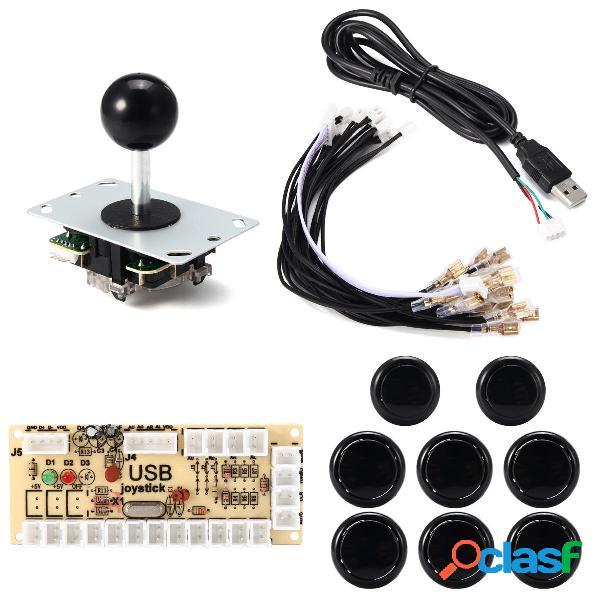 Kit DIY de Controlador de Juego Joystick de Botón para