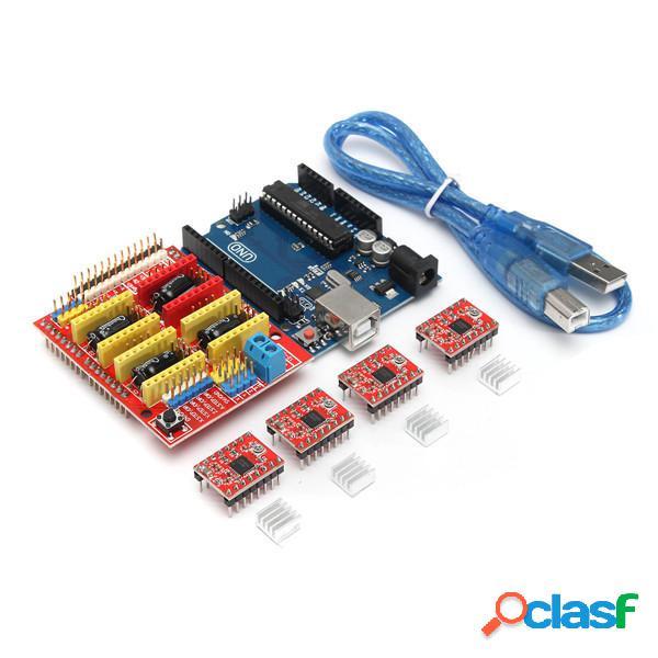 Kit de Impresora 3D para Arduino CNC Escudo V3+UNO