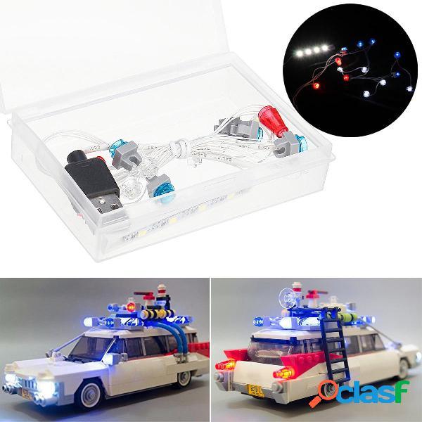 Kit de luz LED SOLO para Lego 21108 Ghostbusters Ecto-1