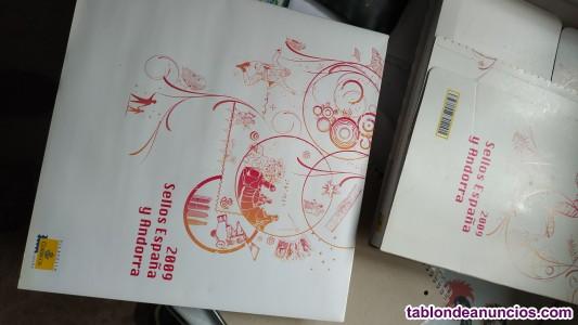 Libro álbum sellos de españa y andorra