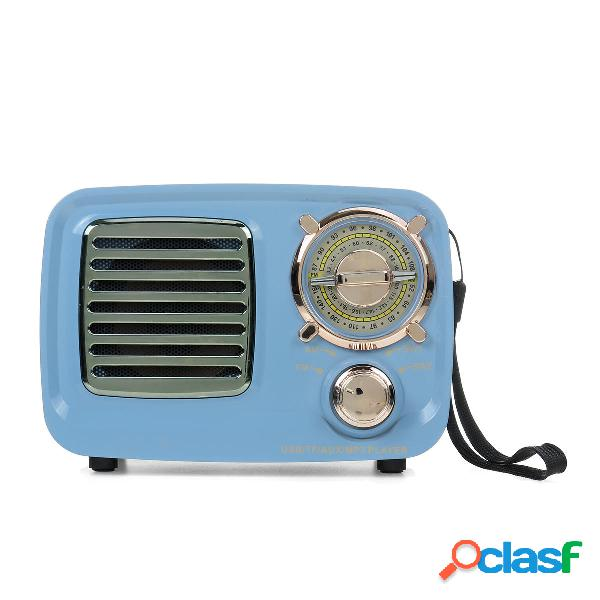 MD-309BT Portátil Retro FM AM SW Radio Altavoz bluetooth