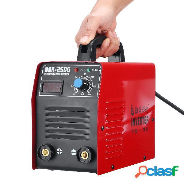 MMA-250G 220V 20-250A Inversor eléctrico IGBT ARC Palo