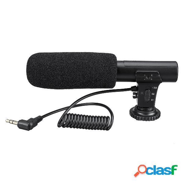 Micrófono estéreo externo de 3.5 mm Micrófono MIC para