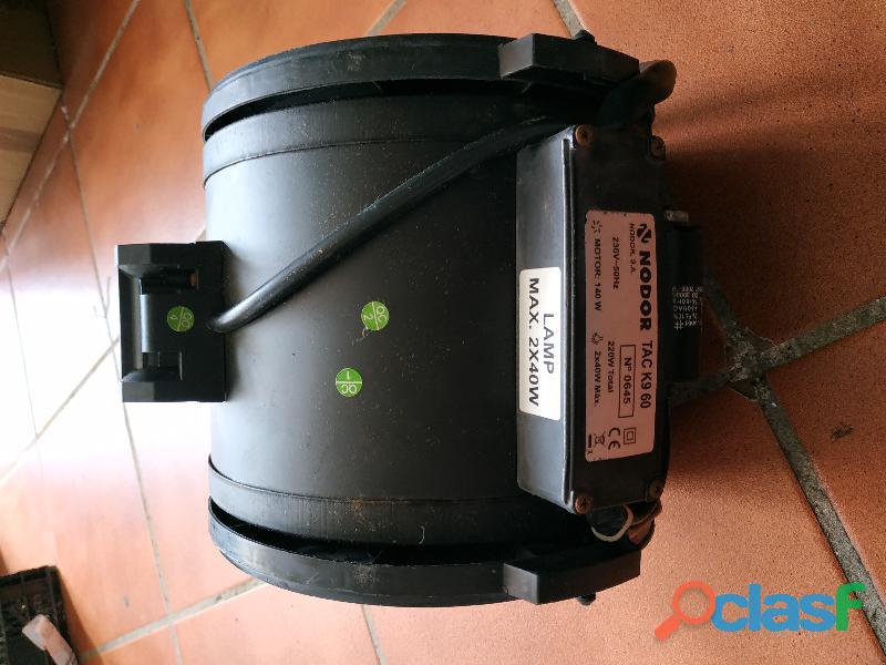 Motor campana extractor NODOR