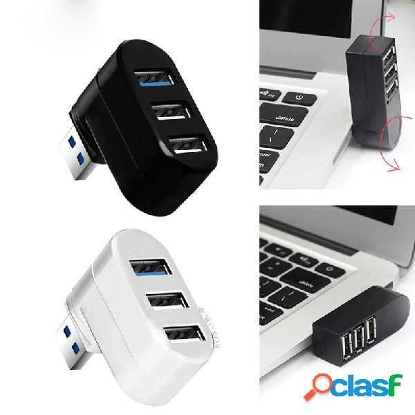 NEO STAR 3 puertos USB3.0 + 2 USB2.0 Hub Mini Hub USB