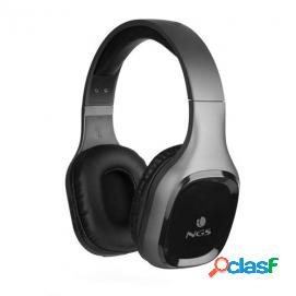 NGS Artica Sloth Auriculares Bluetooth Gris