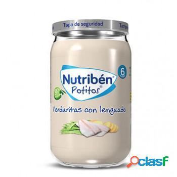 Nutribén Potito Verduritas con Lenguado (6m+) 235 gr