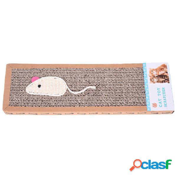 Pad Corrugated Gato Scratcher Gato Kitten Scratch Board Soft