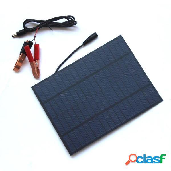 Panel de silicio policristalino portátil de 5W 18V Solar