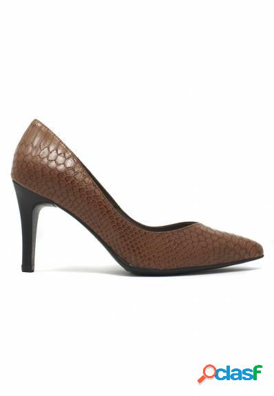 Patricia Miller - Zapato cuero de tacón alto para mujer