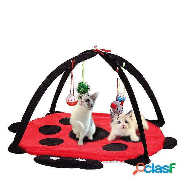 Pet Gato jugar Actividad de cama Tienda de campaña Juguete
