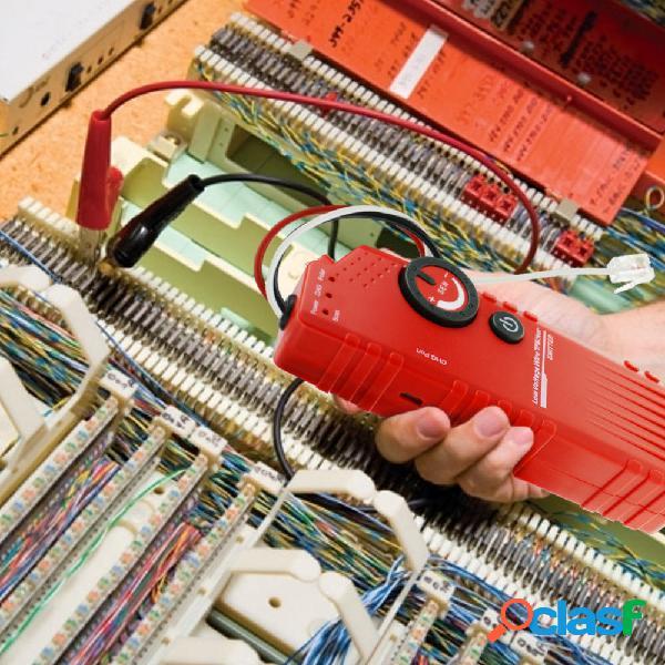 Probador de detector de rastreador de cable para bajo