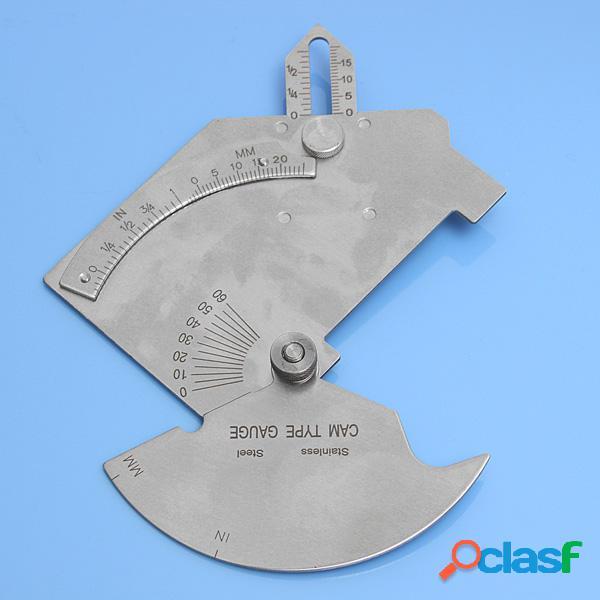 Puente de inspección de soldadura leva galga soldador