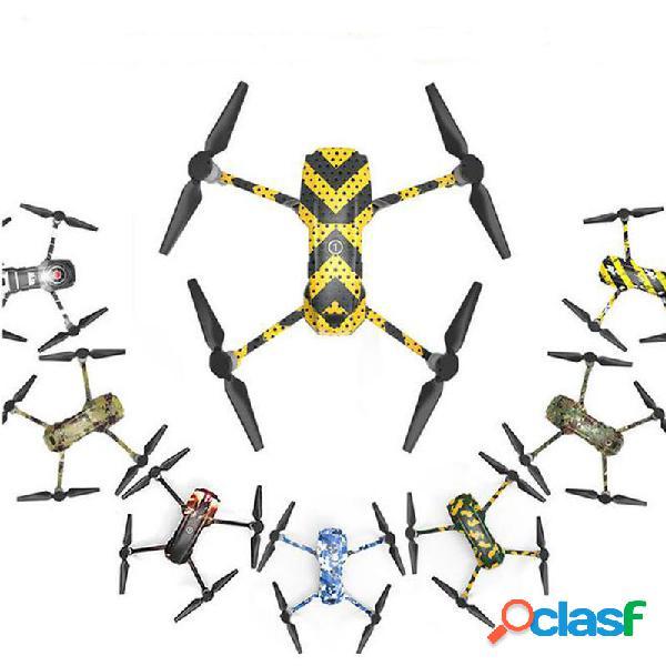 Rcgeek Adhesivo de PVC a prueba de agua RC Drone Cuerpo