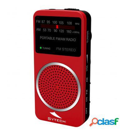 SYTECH SY1675RJ RADIO DE BOLSILLO ESTREO