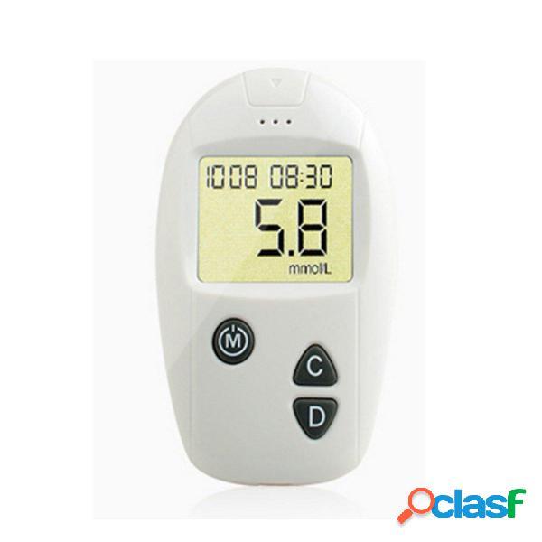 Sanuo Monitor de Glucosa en Sangre Glucómetro Cuidado de