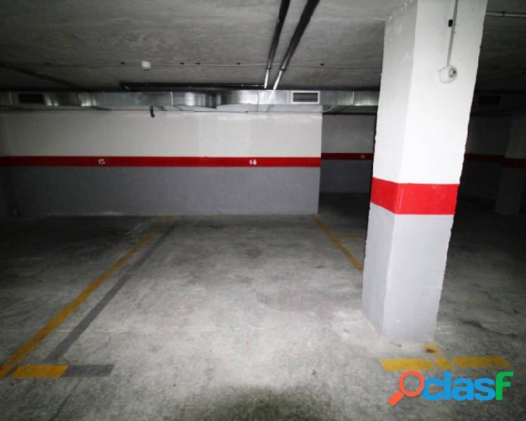 Se vende esta plaza de garaje