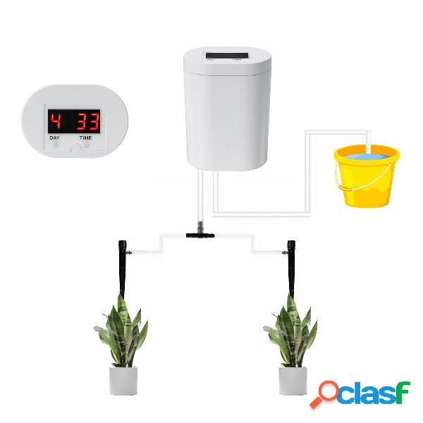 Sistema automático de riego por goteo / rociado Kit de