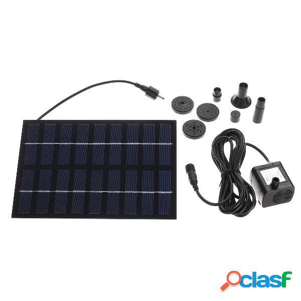 Solar Bomba Solar Kit de panel de bomba de agua de potencia