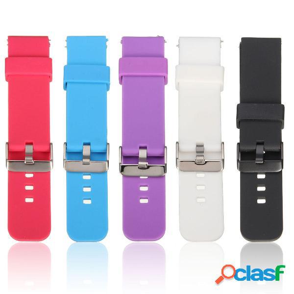 Sports Silicona Reloj Banda Correa para Pebble Time Samsung