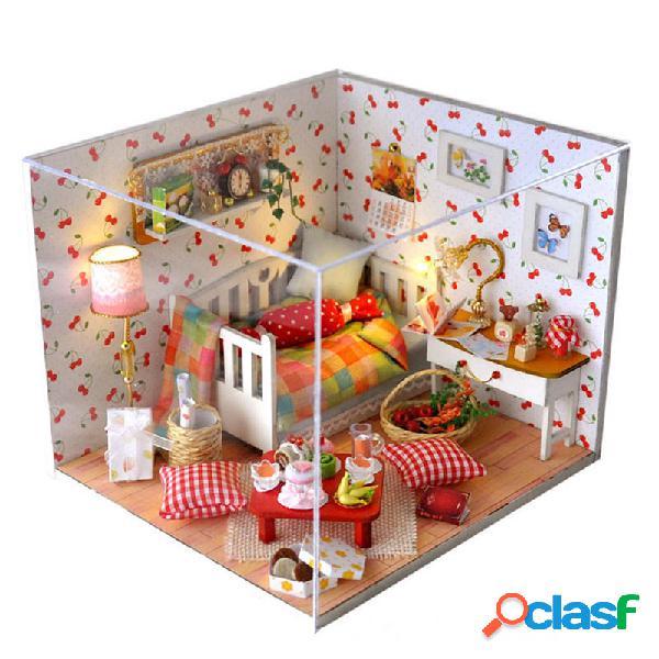 T-Yu TY12 Autumn Fruit House DIY casa de muñecas con tapa
