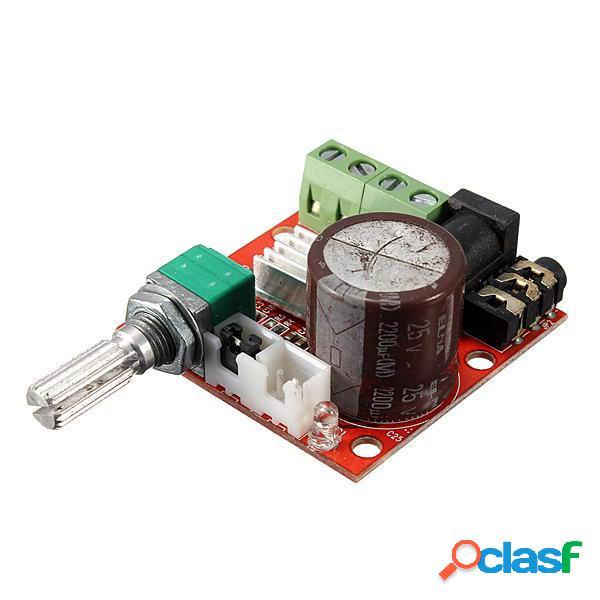 Tablero de Amplificador de Estéreo de Audio 12V Mini Hi-Fi