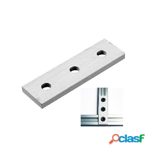 Tira de unión de 3 orificios de aleación de aluminio