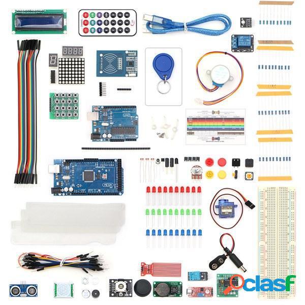 UNO R3 con Mega 2560 LCD1602 HC-SR04 Sensor Kit de módulo