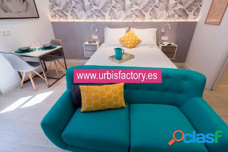 Urbis te ofrece un bonito y acogedor estudio en alquiler en